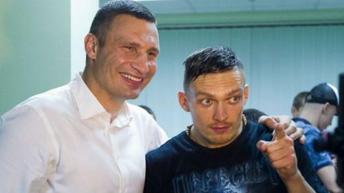 Виталий КЛИЧКО: «Наш Усик – молодец! Ждем новых побед»