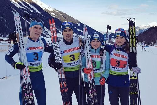ЧЕ-2018 по биатлону. Украина выиграла смешанную эстафету