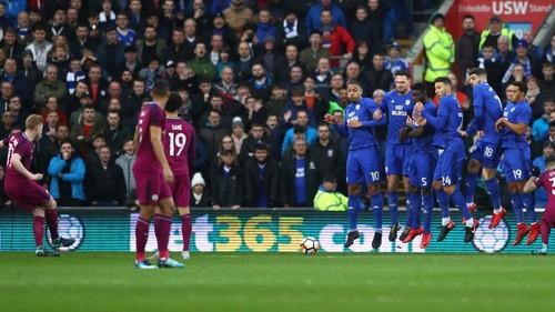Кардифф Сити — Манчестер Сити — 0:2. Видеообзор матча