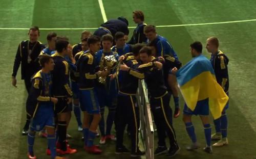 U-17: Юніорська збірна України перемогла на Кубку розвитку в Мінську