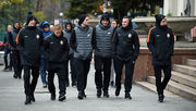 Шахтер прогулялся по Харькову перед матчем с Фейеноордом