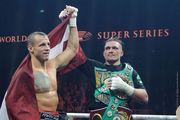 Майрис БРИЕДИС: «Усик похож на боксера, у которого нет слабых сторон»