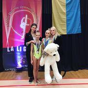 Украинские грации победили на первом старте сезона