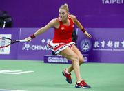 Катерина Козлова уступила в финале турнира в Тайбэе