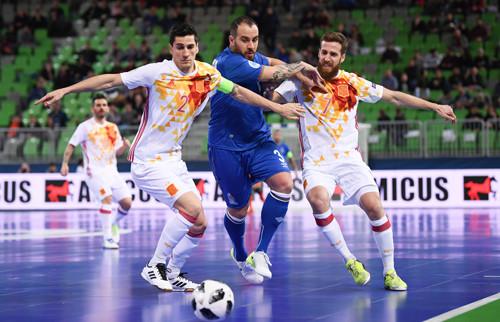 Азербайджан – Испания – 0:1. Обзор матча. 04.02.2018