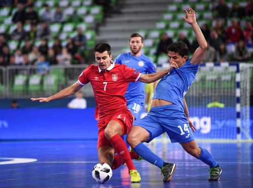 Сербия – Казахстан – 1:3. Обзор матча. 05.02.2018