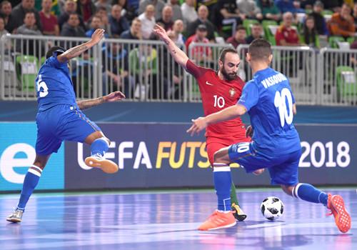 Португалия – Азербайджан – 8:1. Обзор матча. 06.02.2018