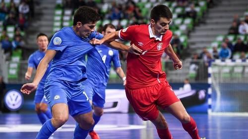 Сербия — Казахстан — 1:3. Видеообзор матча