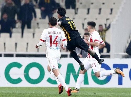 АЕК обыграл Олимпиакос и пробился в полуфинал Кубка Греции