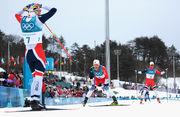 Пхенчхан-2018. Норвежцы заняли весь пьедестал почета в лыжных гонках