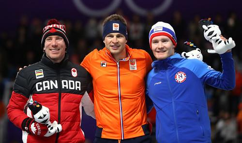 Пхенчхан-2018. Конькобежец Свен Крамер победил на дистанции 5000 м
