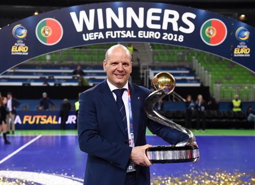 Жорж Браз продлил контракт со сборной Португалии до 2020 года