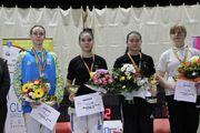 Полозюк выиграла золото на кадетских соревнованиях