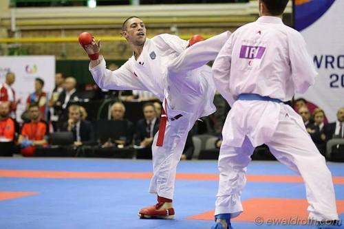 Збірна України з карате завоювала чотири медалі на етапі Серії А