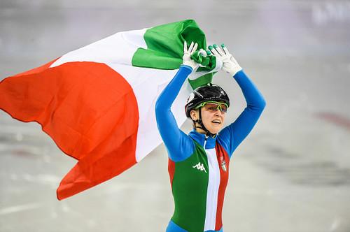 Пхенчхан-2018. Фонтана выиграла золото в шорт-треке на дистанции 500 м