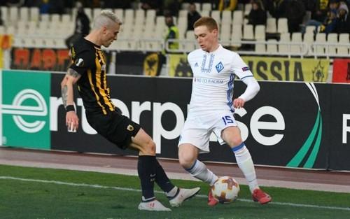 Виктор Цыганков стал самым полезным в матче против АЕКа