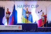 С 16 по 18 февраля украинские гимнастки выступят сразу на трех стартах