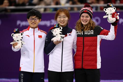 Пхенчхан-2018 Чхве Мин Чон выиграла золото на дистанции 1500 метров