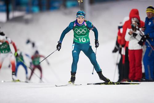 Пхенчхан-2018. День 14. Женская эстафета в биатлоне и горные лыжи