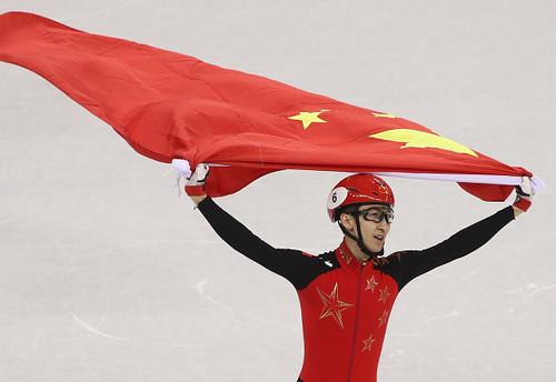 Пхенчхан-2018. Китайский конькобежец победил с мировым рекордом