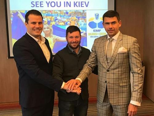 Киев примет чемпионат Европы по мини-футболу