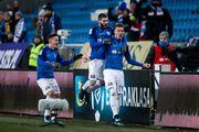 Хобленко забил первый гол за Лех