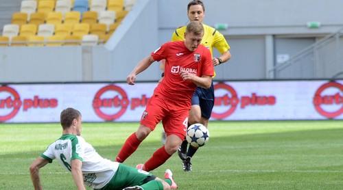 Евгений Пасич получил травму в матче против Зирки
