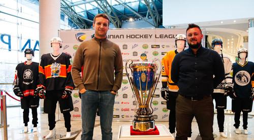 УХЛ презентовала чемпионский кубок Украины по хоккею