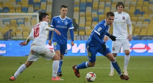Динамо — Верес — 1:0. Видеообзор матча