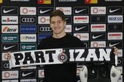 Вакулко дебютировал за Партизан