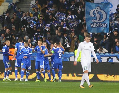 Динамо прервало безвыигрышную серию непростой победой над Ворсклой