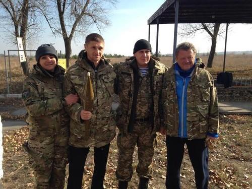 Маркевич, Езерский и Цыганык сыграли с военными в зоне АТО