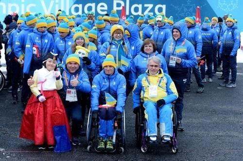 Чемпионам и призерам Паралимпиады-2018 выплатили свыше 90 млн гривен