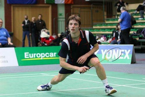 Завадський став бронзовим призером етапу Кубку Європи з бадмінтону