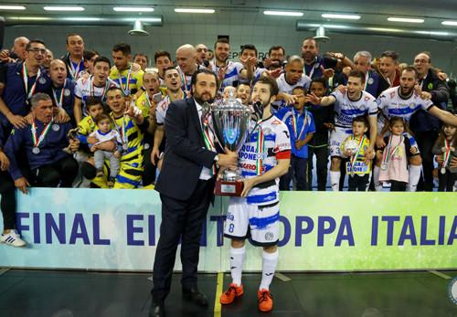 Кто меньше ошибся, тому и трофей: Аква&Сапоне выиграл Кубок Италии