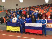 ФОТО ДНЯ: Как украинские борцы с российским флагом фотографировались