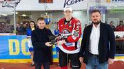 Виталий Лялька стал самым ценным игроком финальной серии УХЛ