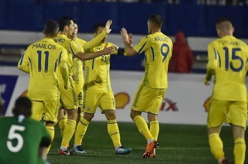 Сборная Украины может сыграть с Марокко и Албанией