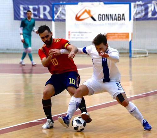 Испания и во втором товарищеском матче была сильнее Финляндии