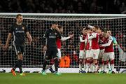 Арсенал впервые за 14 лет забил 4 мяча в 1-м тайме еврокубкового матча