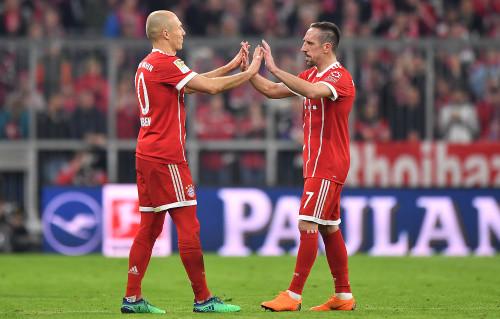 Бавария готова продлить контракты с Рибери и Роббеном