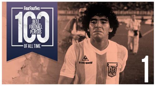 FourFourTwo: Лучший игрок в истории Марадона, Месси и Роналду в топ-5