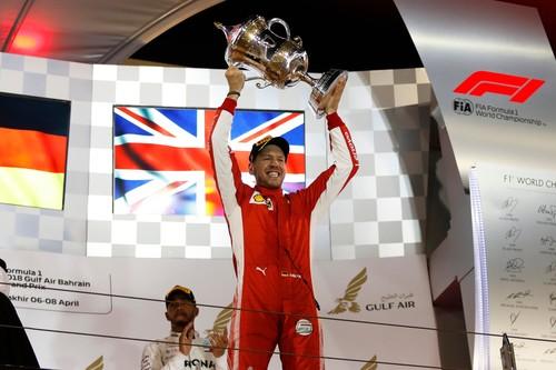 Себастьян Феттель переміг на Гран Прі Бахрейну