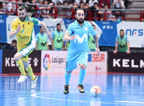 Мовистар Интер не смог взять реванш у Хаэна за финал Кубка Испании