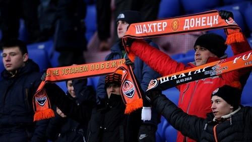 Перед матчами Шахтера гимн Украины будут исполнять вживую