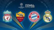 Жеребьевка полуфинала Лиги чемпионов начнется в 14:00
