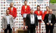 Украинские самбисты добыли 30 медалей на молодежном чемпионате Европы