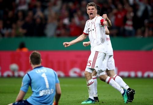 Бавария не заметила Байер в полуфинале Кубка Германии