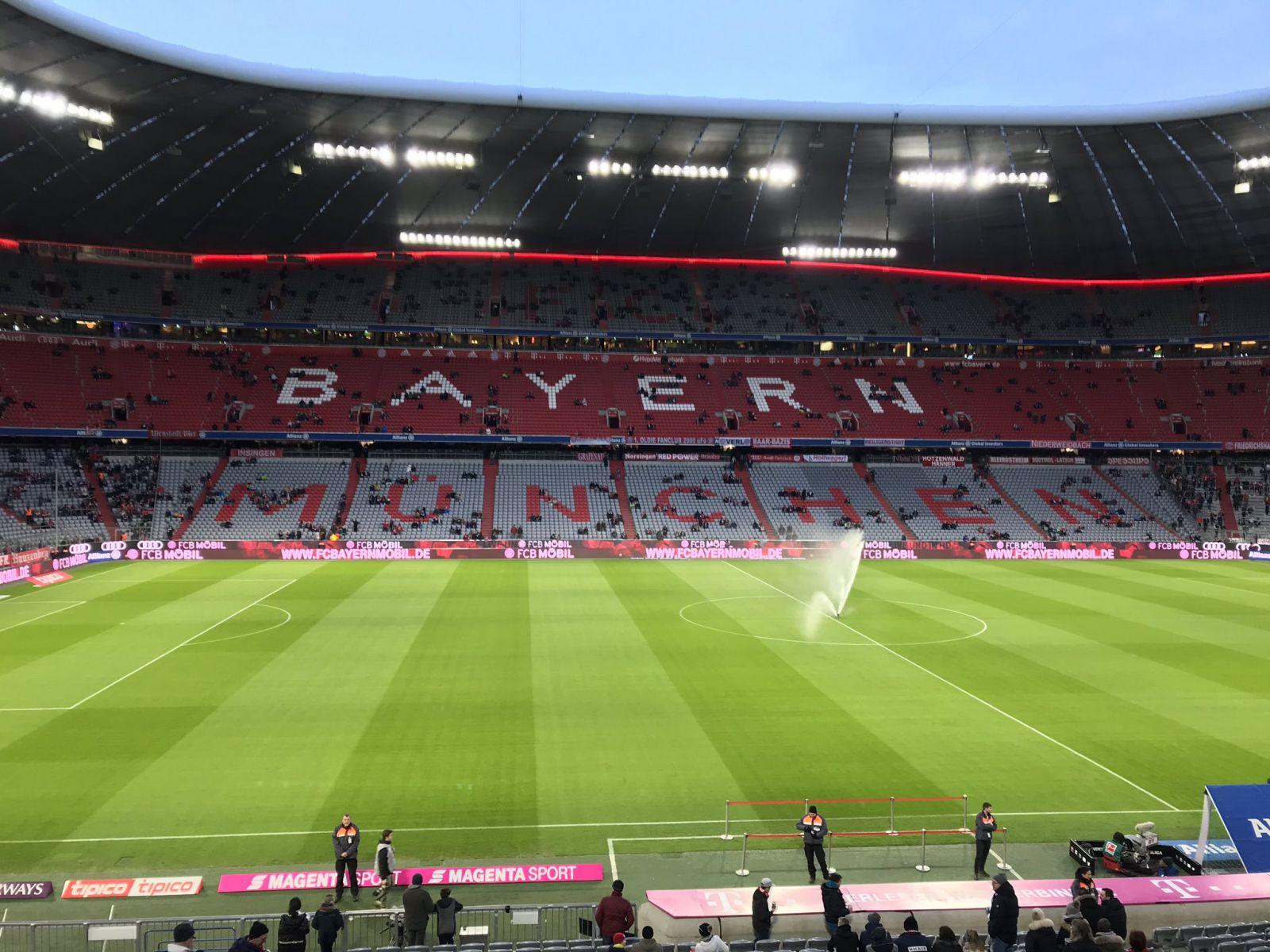 Фаны баварии секс на стадионе