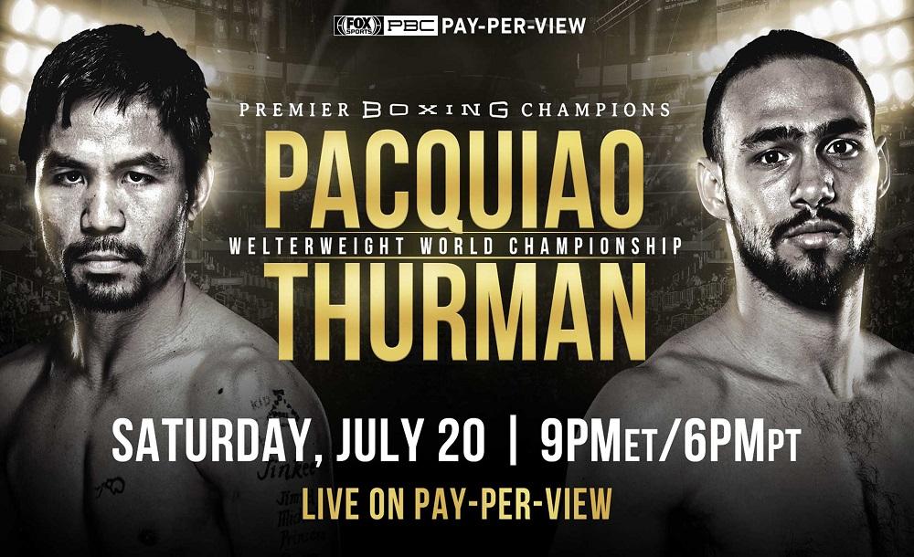 Пакьяо и Терман – два чемпиона, но их бой не объединительный. Как так?